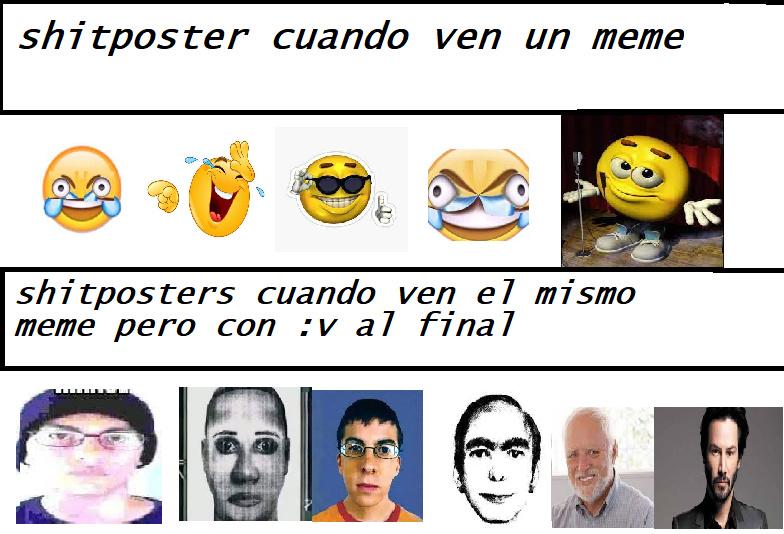 shitposters cuando - meme