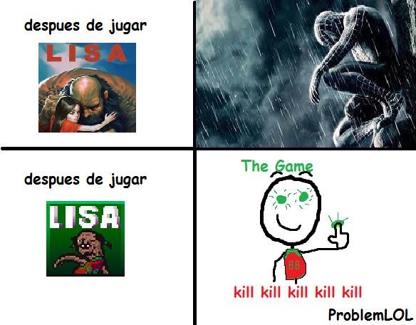 LISA The Pointless - Scholar of the Wilbur Sin Edition - meme