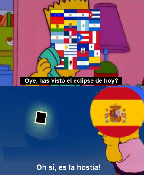 Eclipse Español - meme