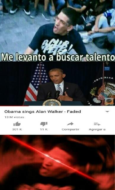Obama :0 - meme