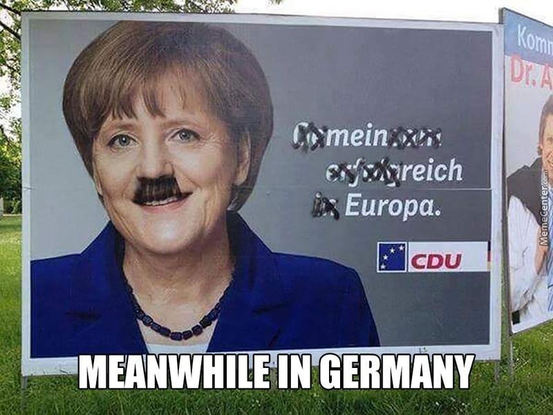 Hitler esquerda k - meme