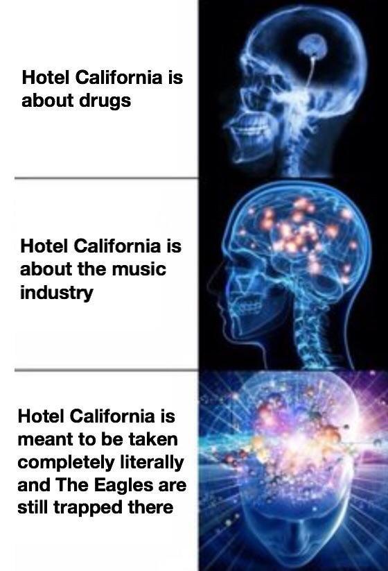 Hotel California - meme