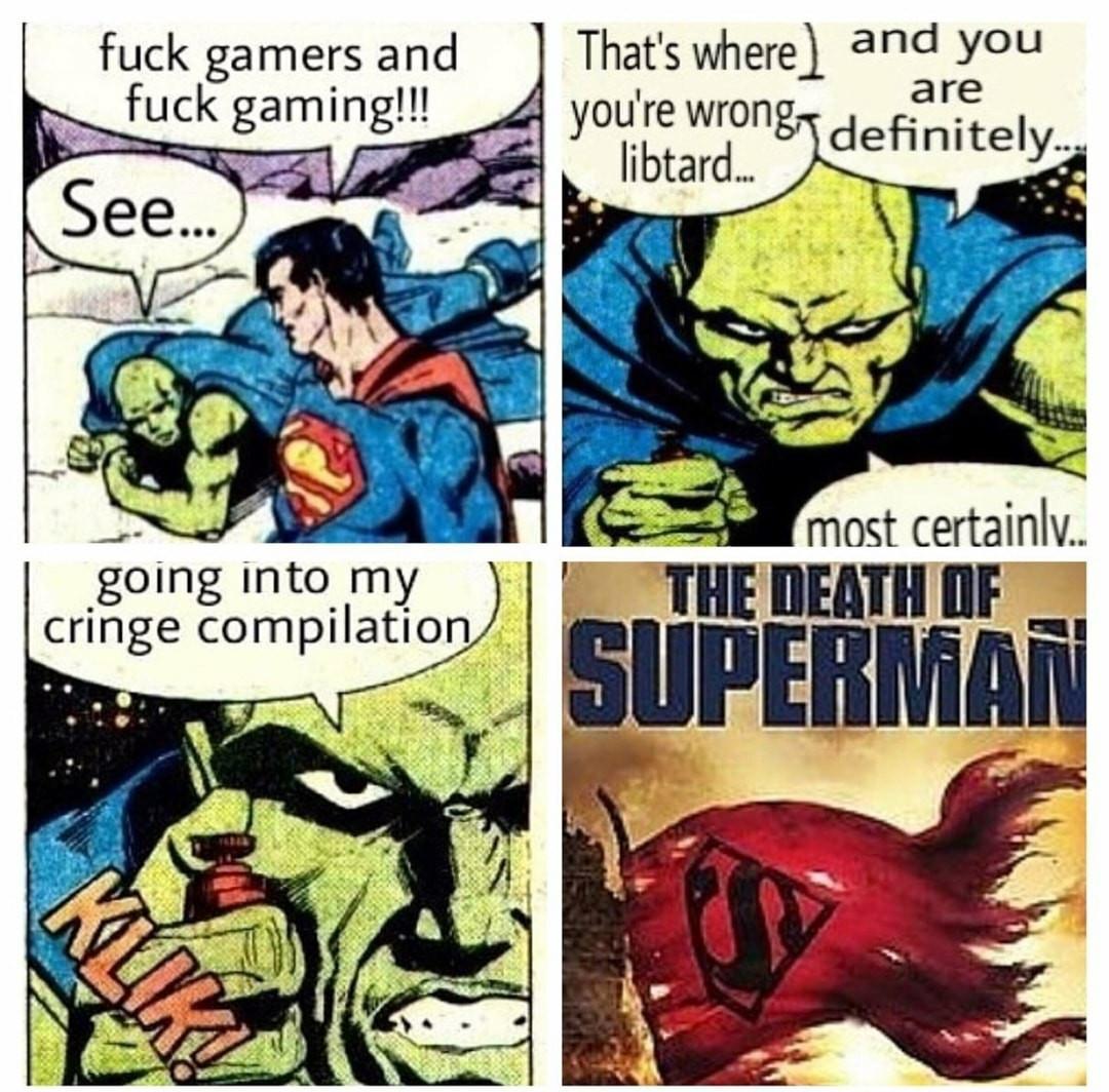 It's over, kryptonian - meme