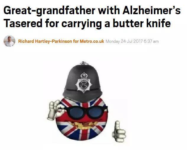 He had no knoife loicense he didnt - meme