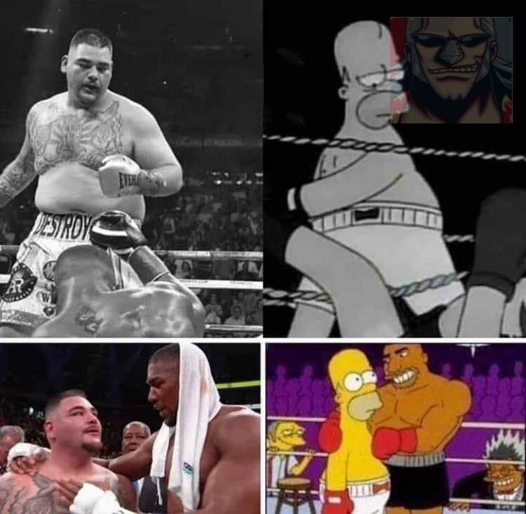 Boxing Homer - meme
