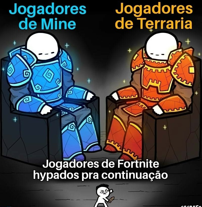 Fortnite meu pau - meme