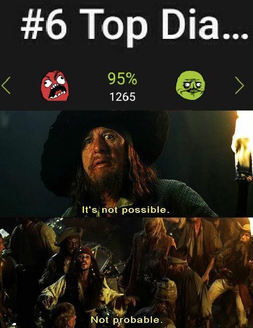 Un #6 Top diario con 95% aún - meme