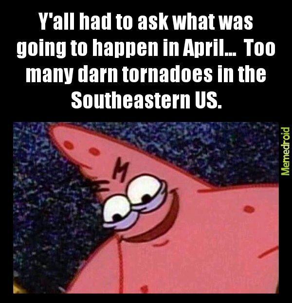 Tornadoes - meme