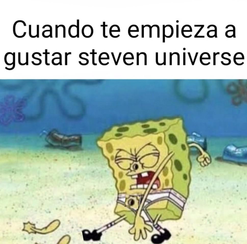 Cuando te empieza a gustar Esteban Galaxias - meme