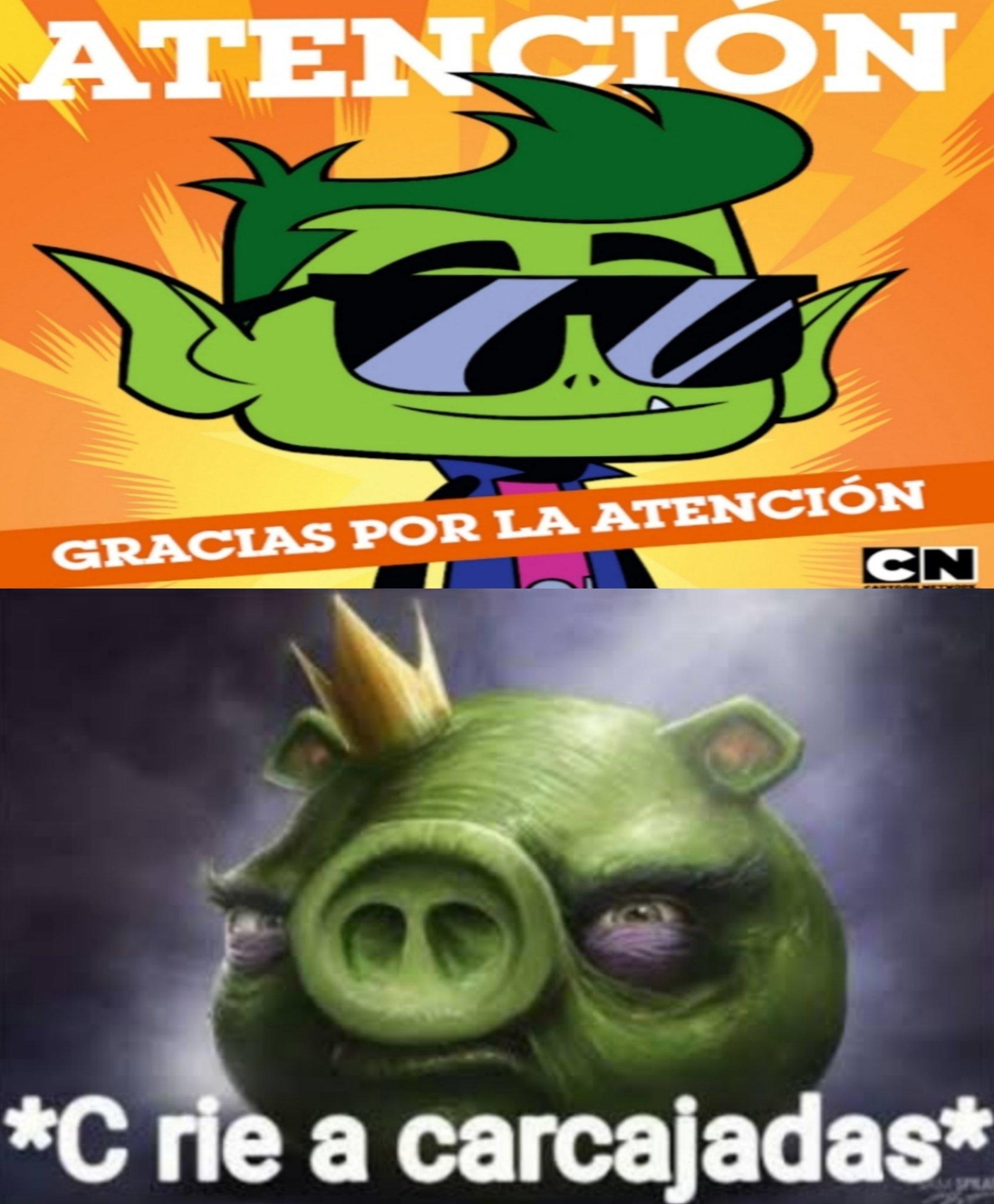 Cartoon network no le sabe al chis pop - meme