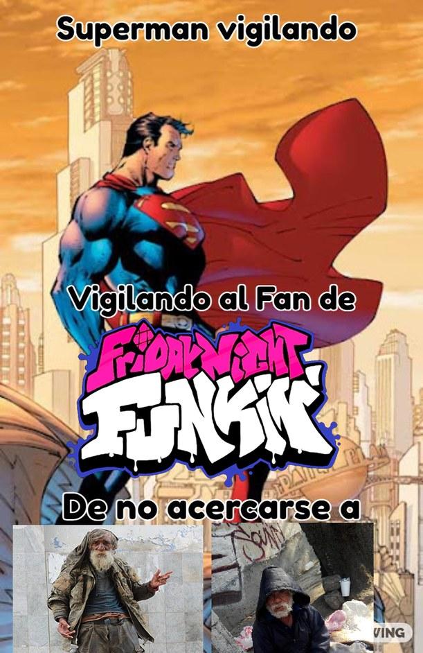 Gracias Superman - meme