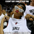 lebron fans be like