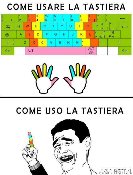 tastiera - meme