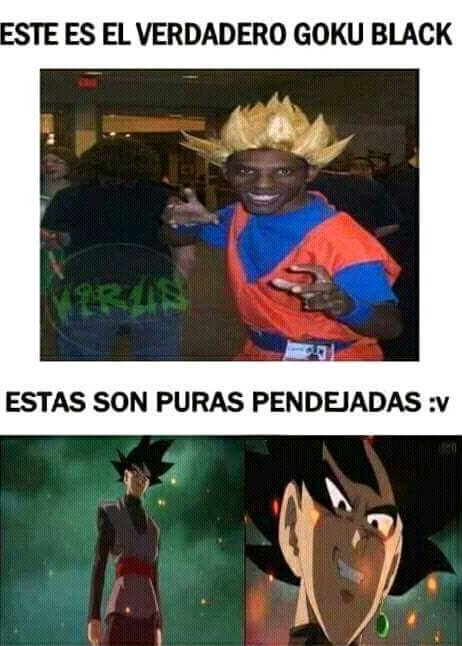 BLACK Goku - meme