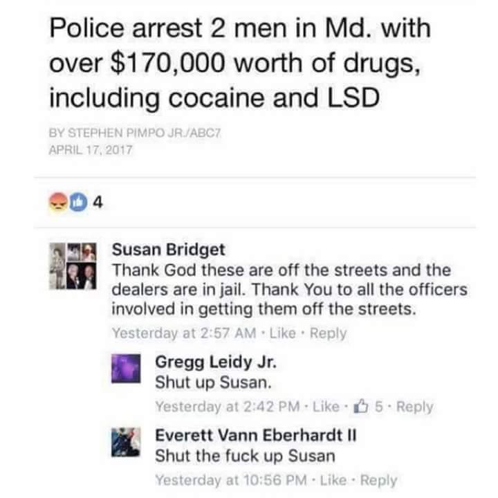 Fuck off Susan - meme
