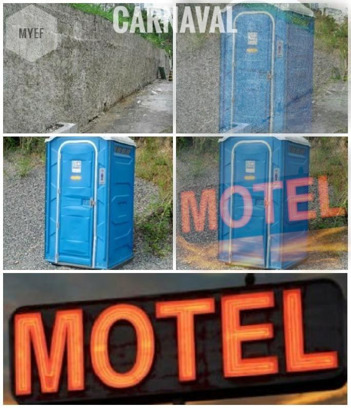 Rua química e banheiro DST - meme
