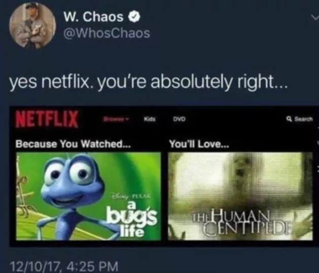 of course, Netflix - meme
