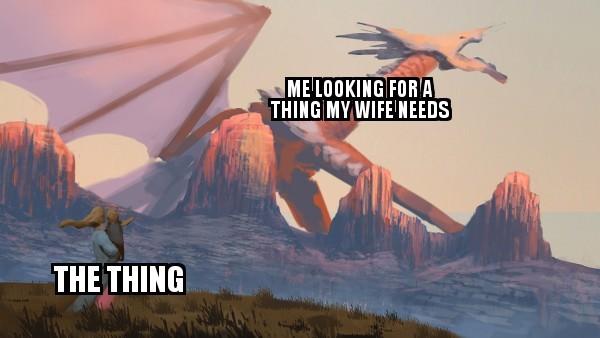 I cant find it anywhere - meme