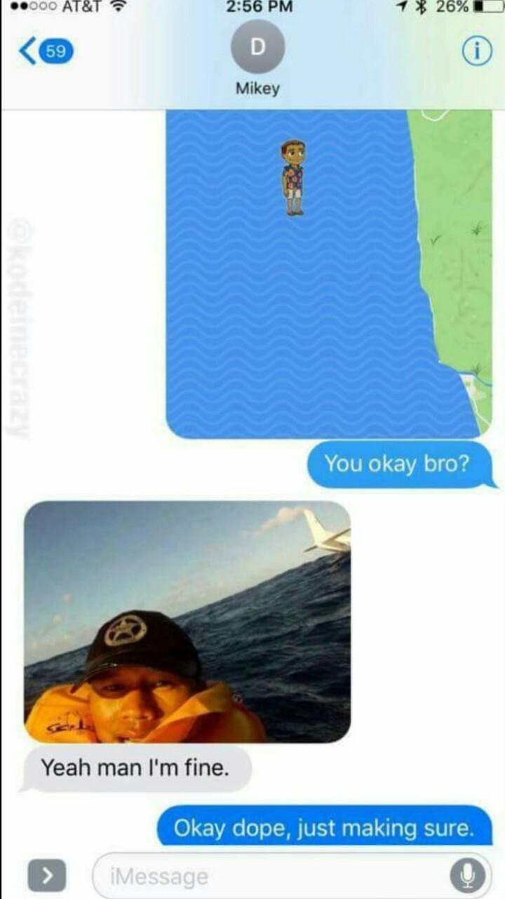 Okay bro b) - meme