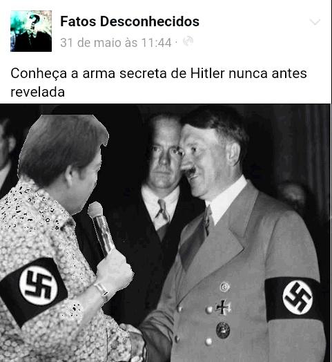 Faustão nazista fodasi - meme