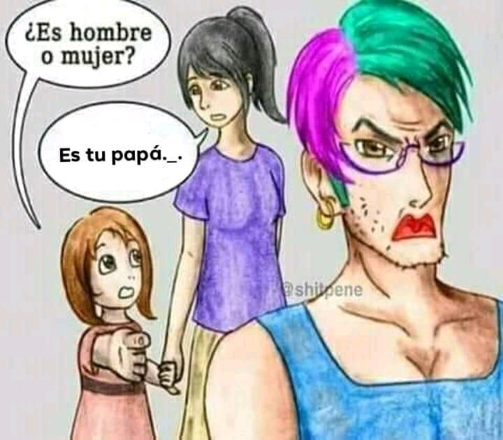 Tu papá. _. - meme
