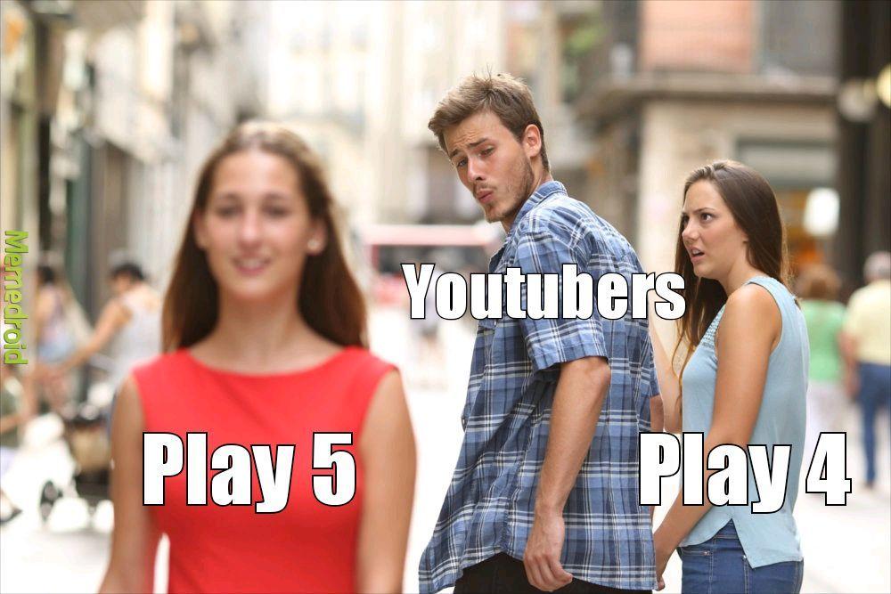Todos los youtubers - meme