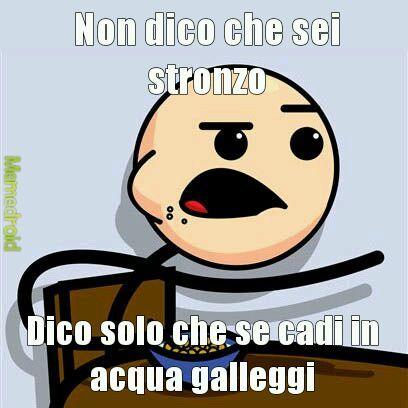 Stronzo - meme