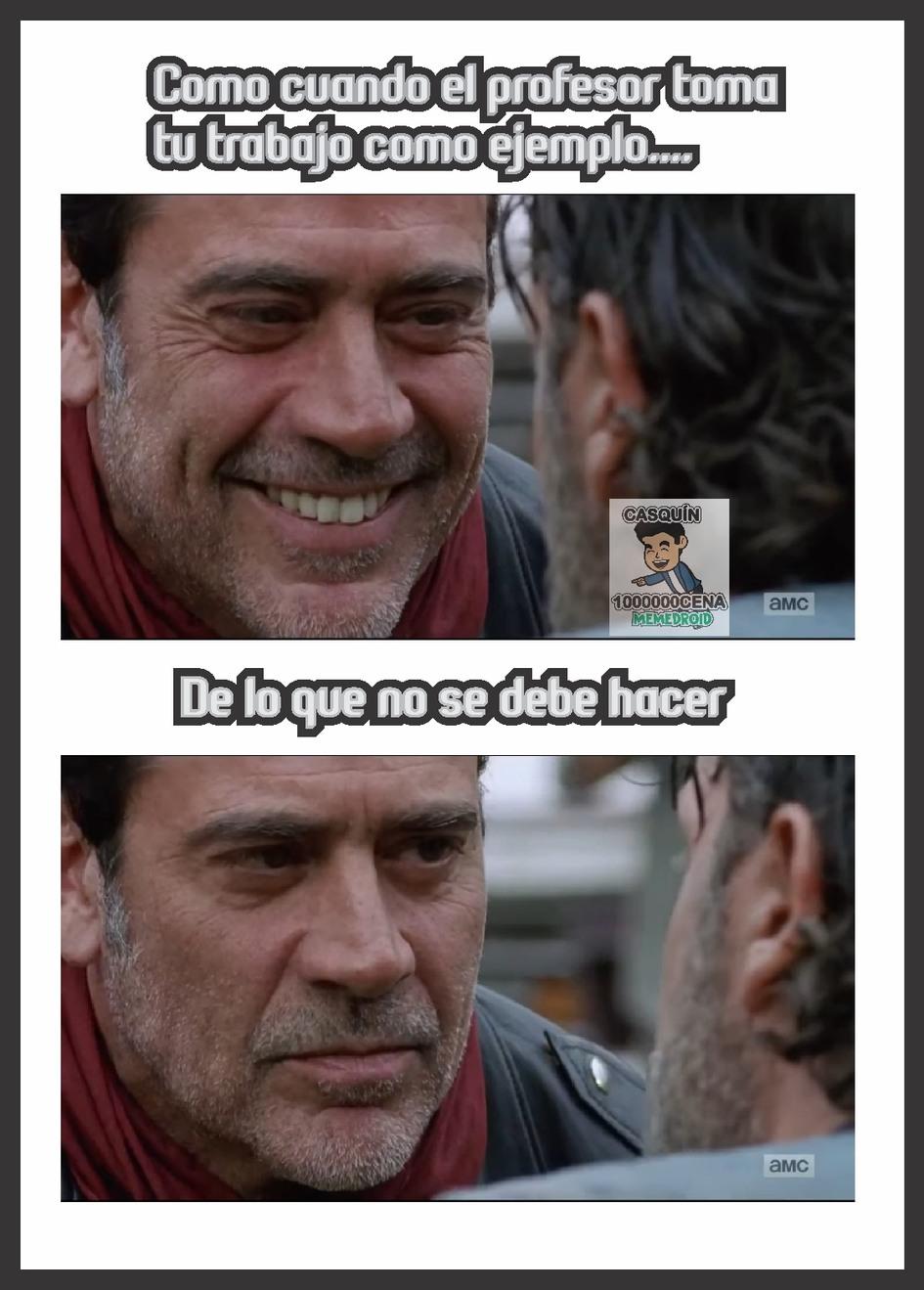 pinche profe - meme