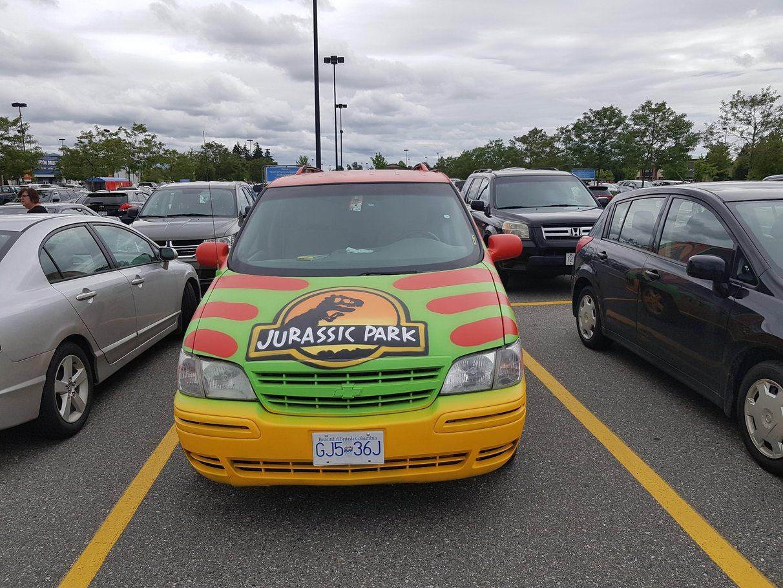 Did Someone Steal Jurrasic Park Van? - meme