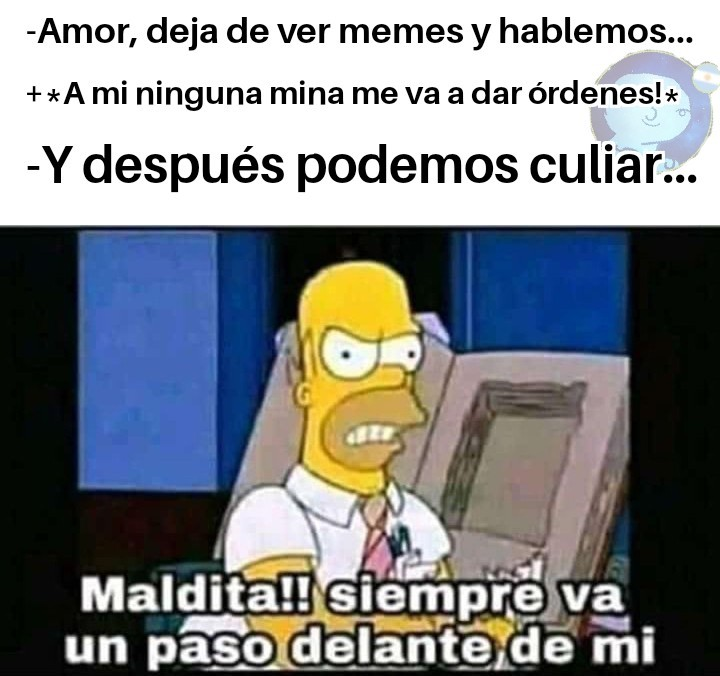 Maldita sea!!!!! (Meme de Flan)