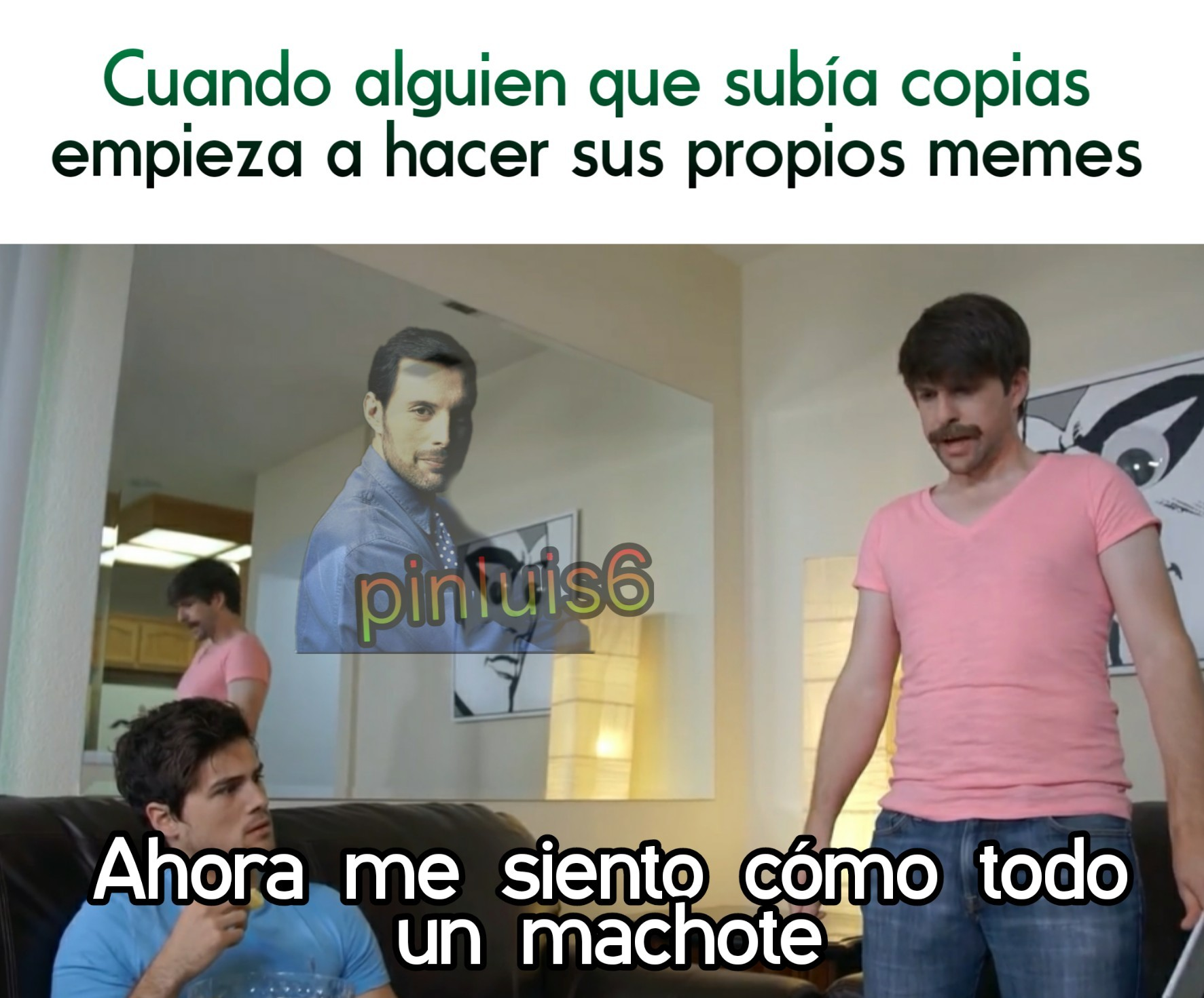 Un hombre soy! - meme