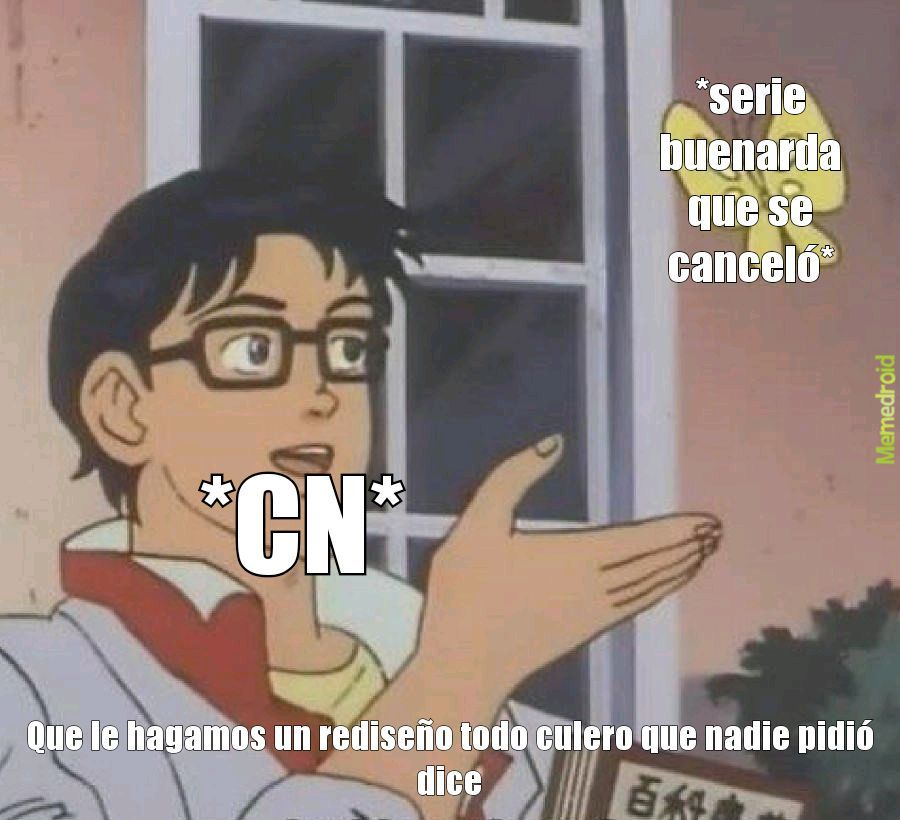 Ztupido Cartoon Network - meme