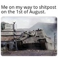 Be ready for tanks