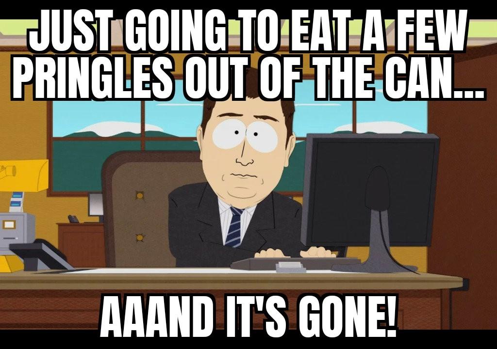 Gluttony at it's finest. - meme