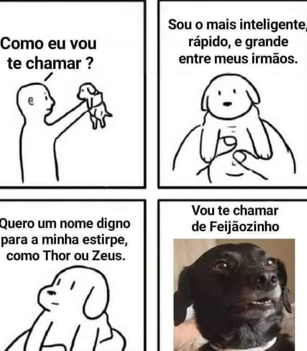 Poh Feijão... - meme