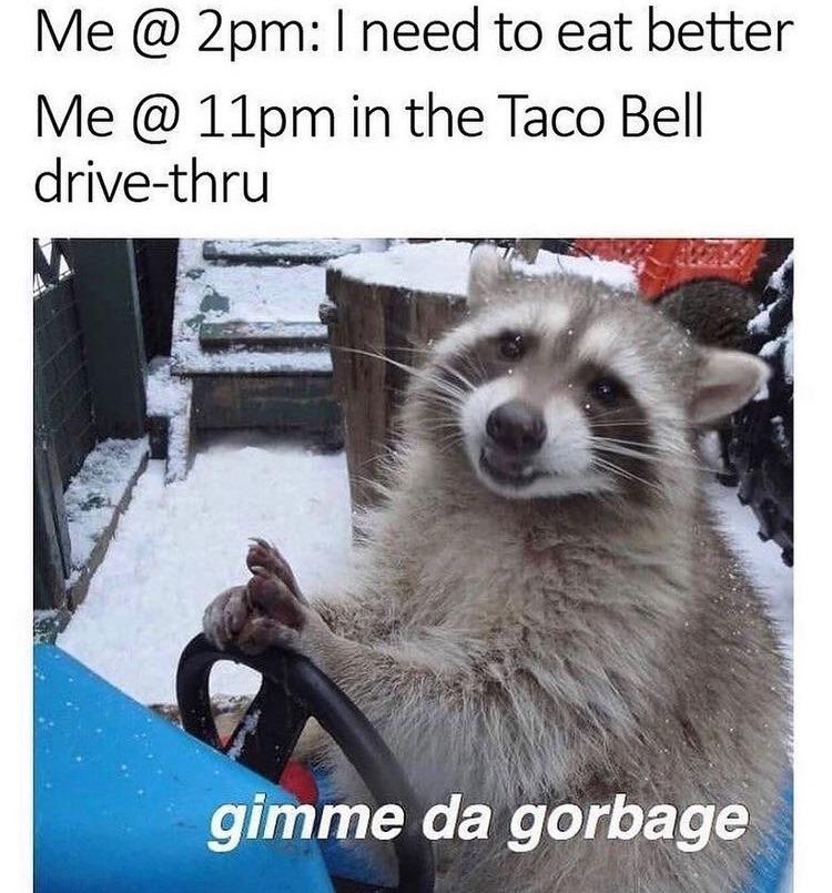 gimme da gorbage - meme