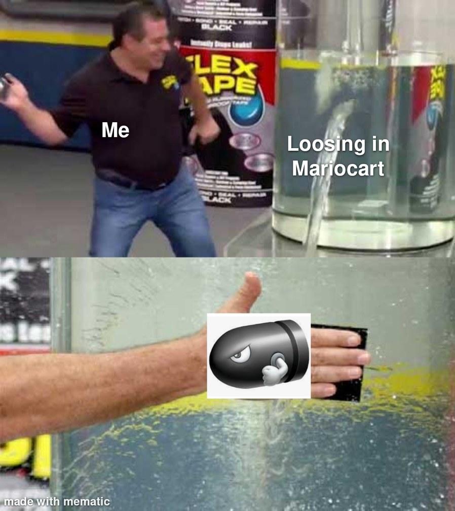 Mariocart - meme