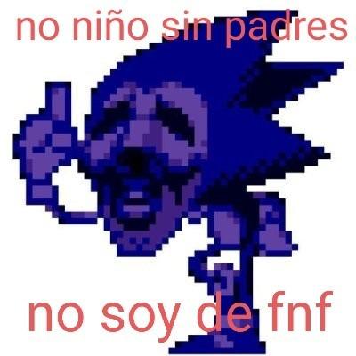 Sonic no es de fnf - meme