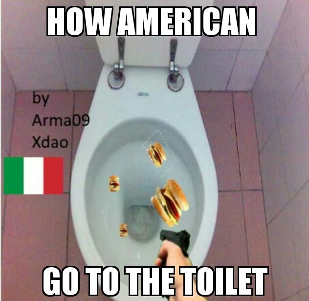 Kys american - meme