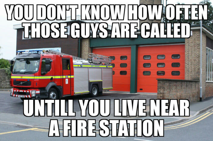My house is on fire! - meme