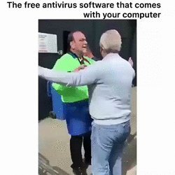 Free antivirus - meme