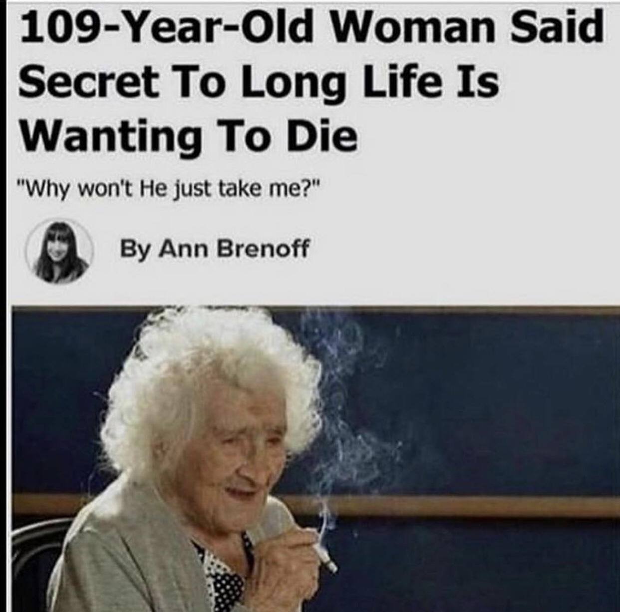 secret to life - meme