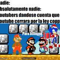Youtube siempre,en nuestros corazones estaras  :,c