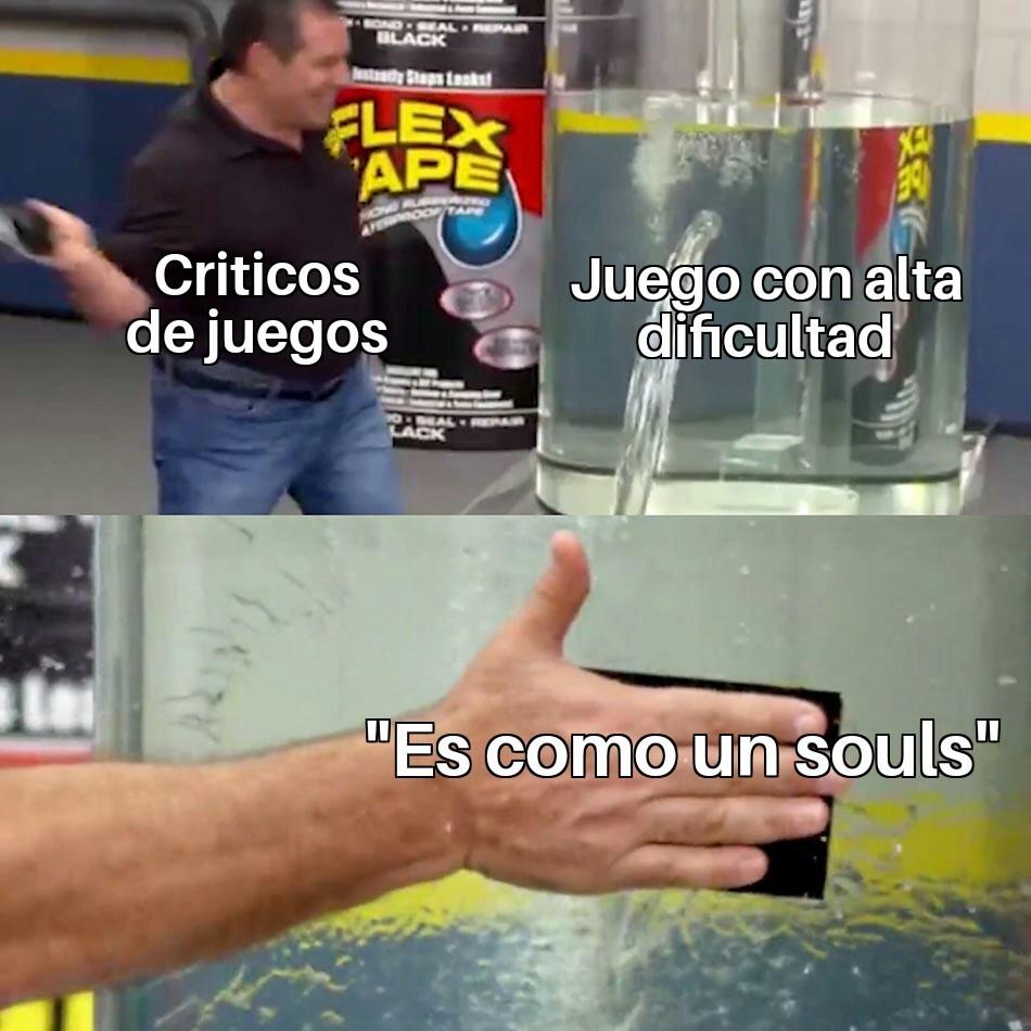 Cuando digo souls me refiero al dark souls - meme