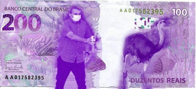 Usar os 200 reais pra comprar cloroquina geladinha - meme