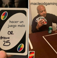 mcleodgaming es la verga haciendo juegos - meme