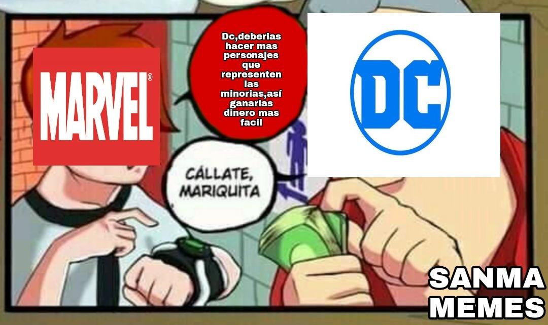 """Marvel tiene una villana feminazi llamada """"la asesina de hombres"""" pero luego son ellos quienes apoyan a las feminazis - meme"""