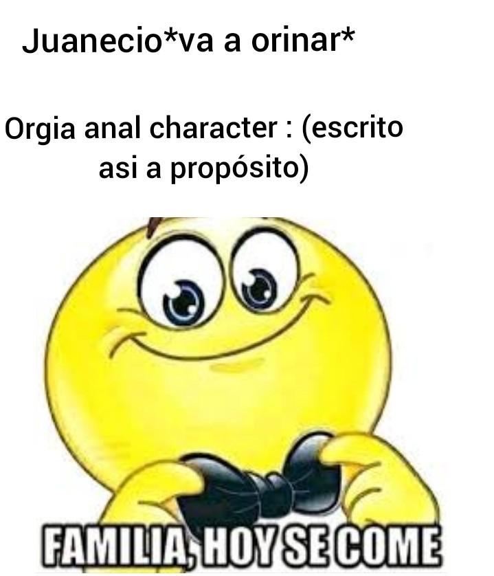 No insulto a juanecio solo a orijinal character - meme
