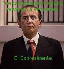Aunque le haya dado 250 millones de bolívares al gobierno de Nicaragua, seguira siendo uno de los mejores presidentes que ha tenido Venezuela... - meme