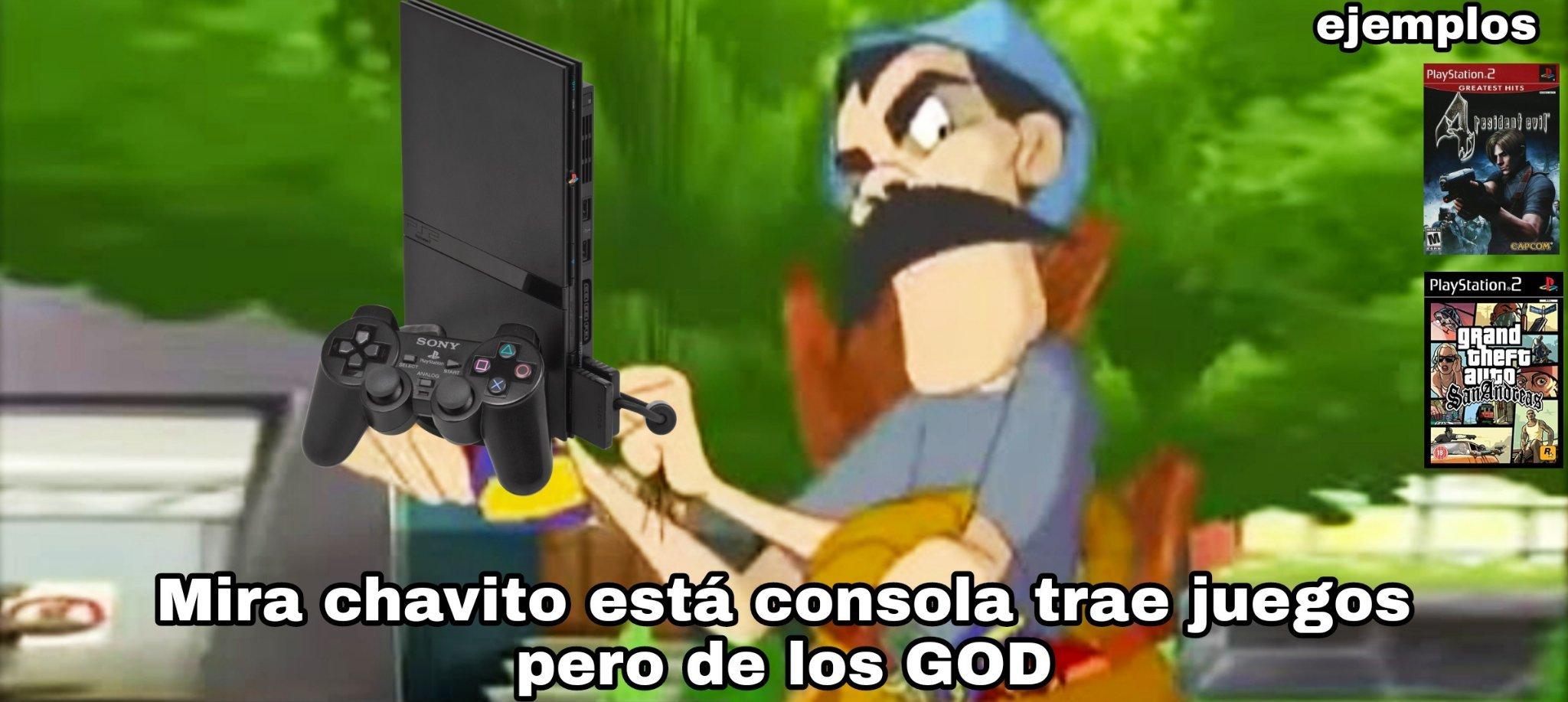La Gamecube es zzzzzz - meme
